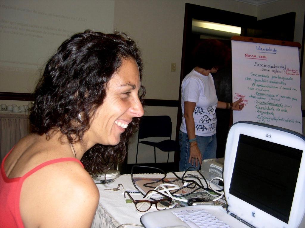 Reunião de planejamento para criar o CASA em 2003