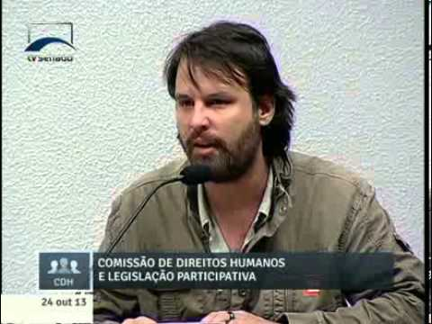 Gabriel Strautman. (Foto: TV Senado)