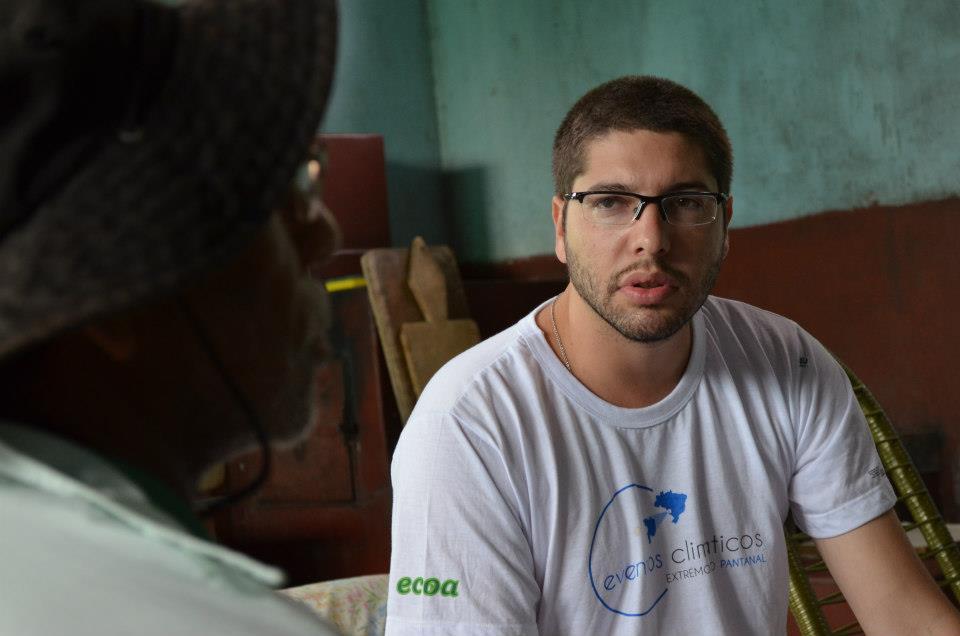 André Siqueira - Diretor Presidente da ECOA – Ecologia e Ação. Foto: Arquivo ECOA.