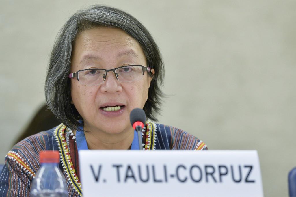 Victoria Tauli-Corpuz (Photo / Jean-Marc FerrŽ).