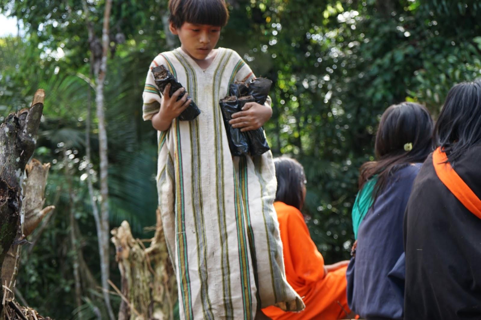 Jovem Ashaninka. Foto: Blog Ashaninka-Apiwtxa