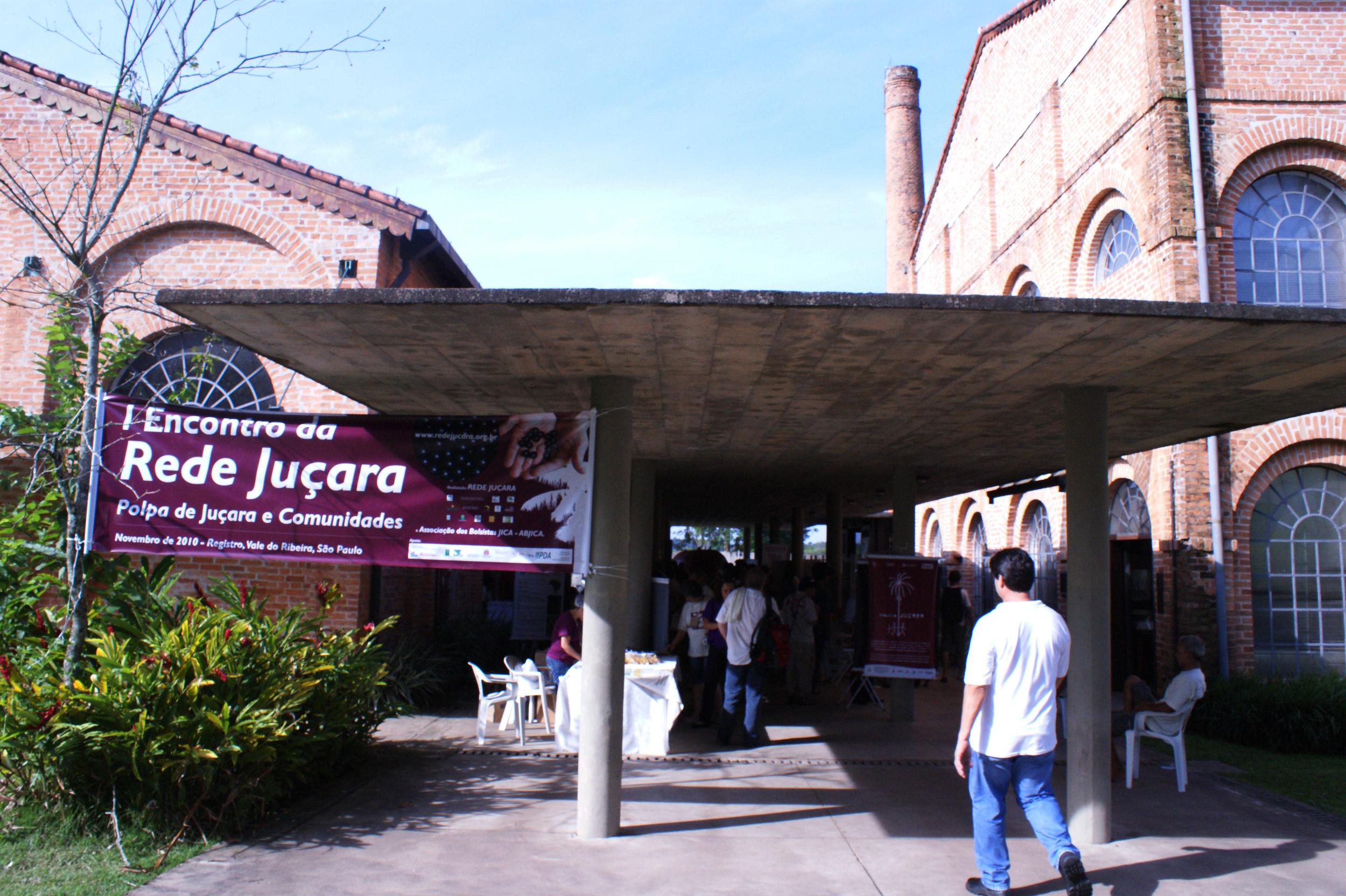 Primeiro encontro da Rede Juçara, projeto apoiado pelo Fundo Socioambiental CASA (Foto: Coletivo Catarse).
