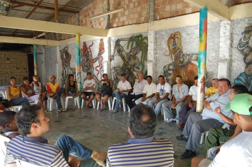 Reunião do Movimento Cultural Arte Manha - Caravelas - BA