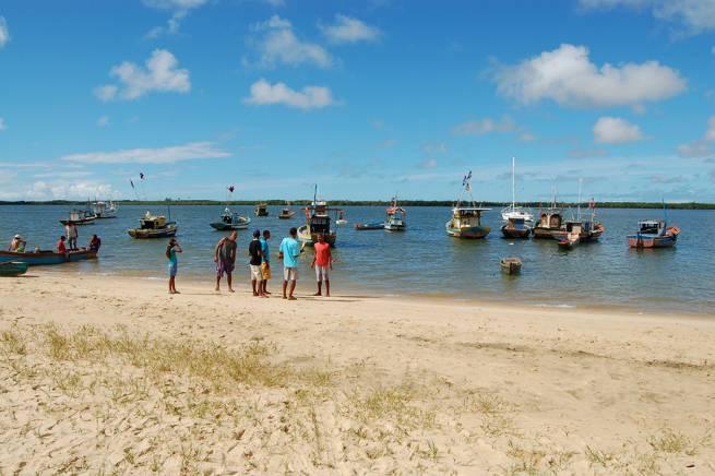 Pescadores de Caravelas. (Foto: Movimento Cultural Arte e Manha)