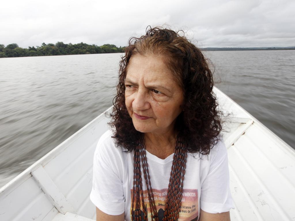 Antonia Melo. (Foto: http://www.ligaoperaria.org.br)